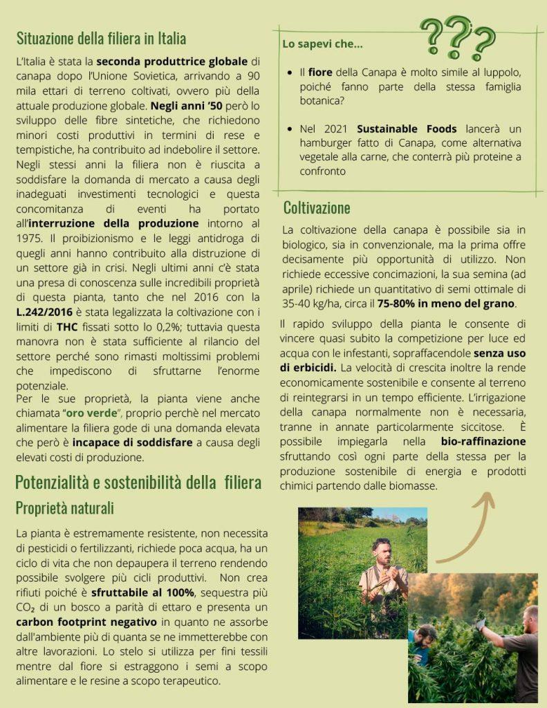 Università di Pisa - Le Canapaie